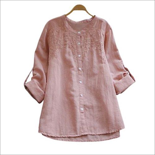 Ladies Neck Line Shirt
