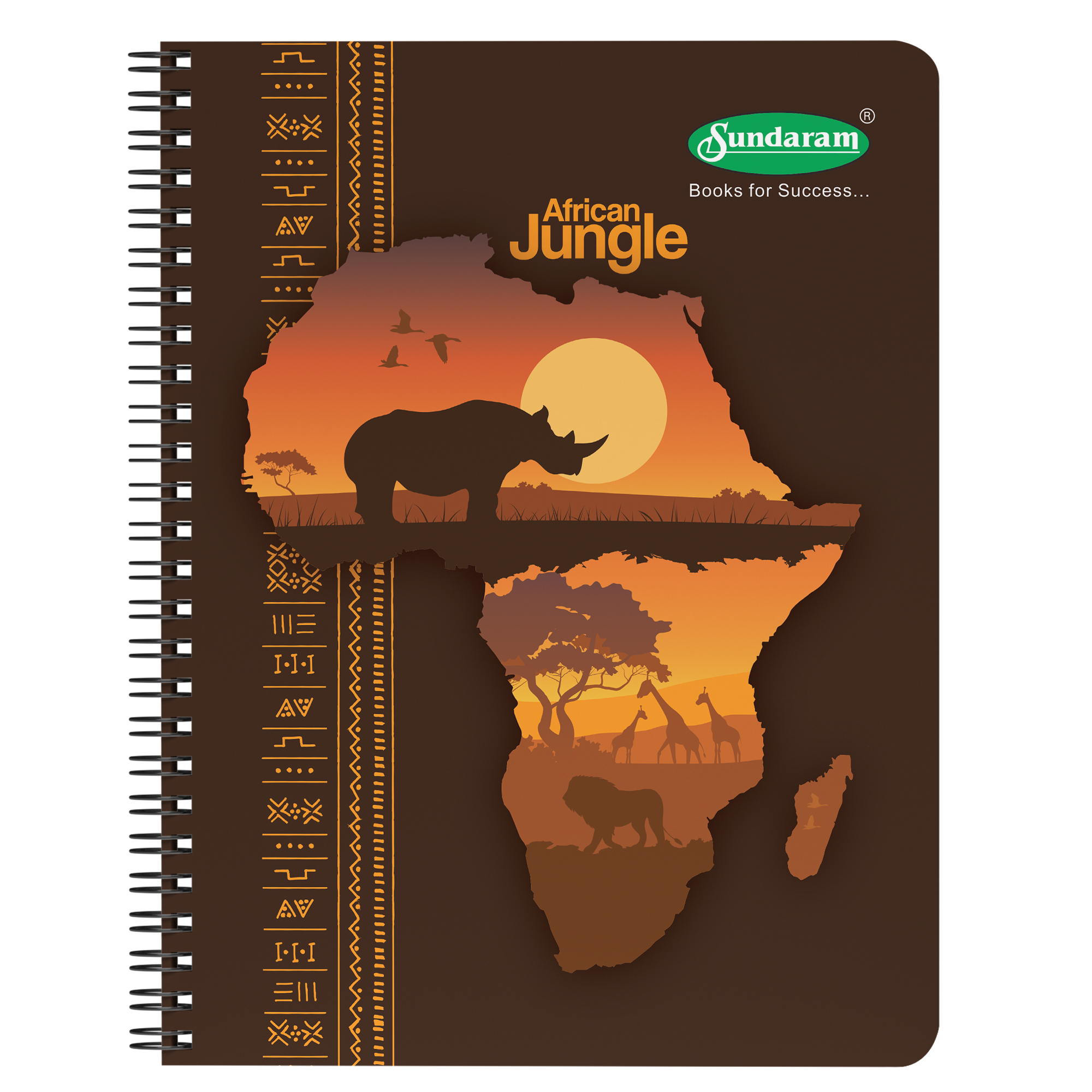 Sundaram Six Subject Book - 300 Pages (S-6)