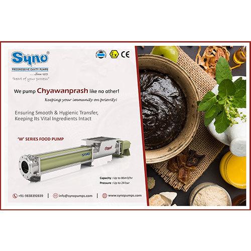 Chawanprash Pump Syno Progressive Cavity Pump