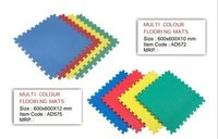 Multi Colour Flooring Mats For School