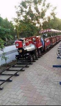 Amusement Park Track Train