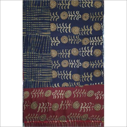 Muslin Two Tone Printed Fabric