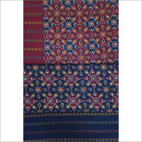 Polyester Viscose Printed Fabric