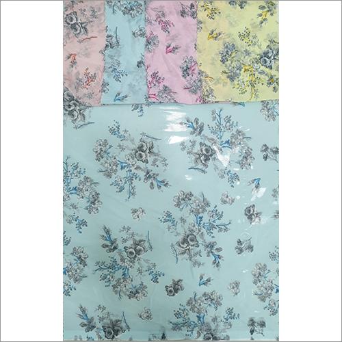 Georgettee Printed Fabric