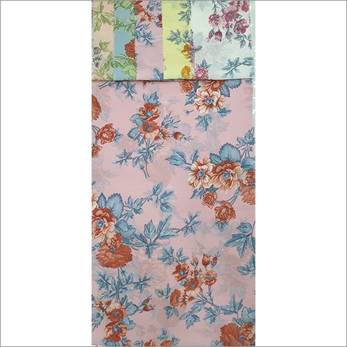 Georgette Flower Print Fabric