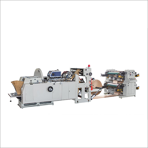 Automatic Paper Shopping Bag Making Machine