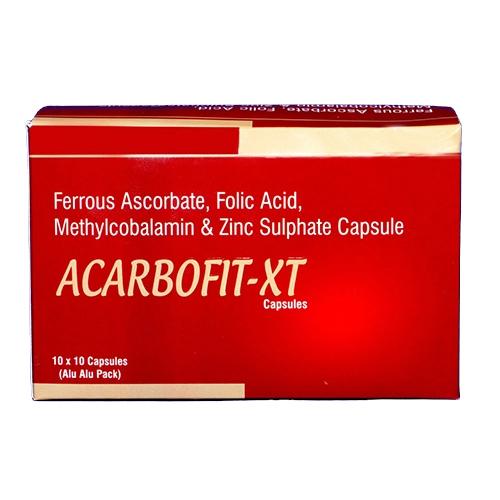 Ferrous Ascorbate Folic Acid Methylcobalamin And Zinc Sulphate Capsules