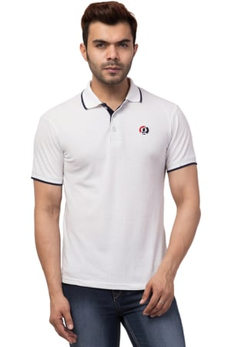 Design Men Collared/Neck Multicolor Polo T\Shirt