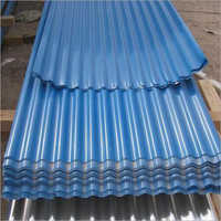 Blue Corrugated Sheet