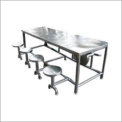 8 Seater Dining Table For Canteen