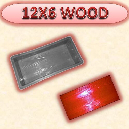 12X6 WOOD MOULD