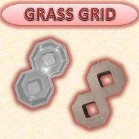 GRASS GRID MOULD