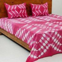 Shibori  Handmade  Cotton Bedsheet