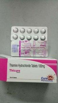 Thiamine Hydrochloride Tablets 100Mg