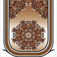 Brown Embroidery Sofa Cover