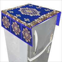 Blue Designer Fridge Top