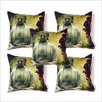 Lord Budha Printed Cushion