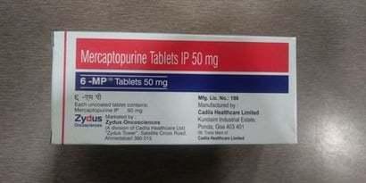 Mercaptopurine Tablets 50 MG