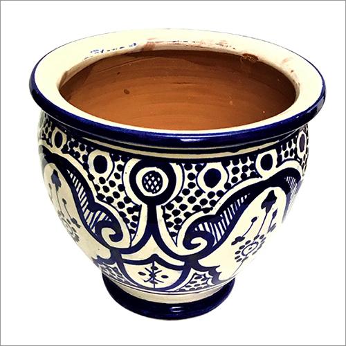 Ceramic Round Flowerpot