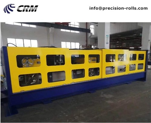 Precision wire rolling mill production line