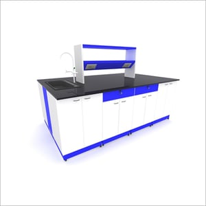 CRCA Granite Top 8 Base Cabinet With 1 Sink