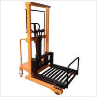 Stacker Machine With Roller Attachment