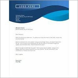 Office Letter Head Printing Service