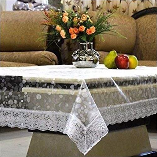 Diamond White Table Cover