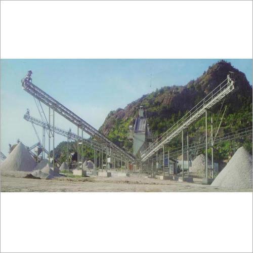 Three Stage Stone Crushing Plant