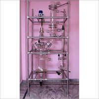 Jacketed Glass Distillation Unit