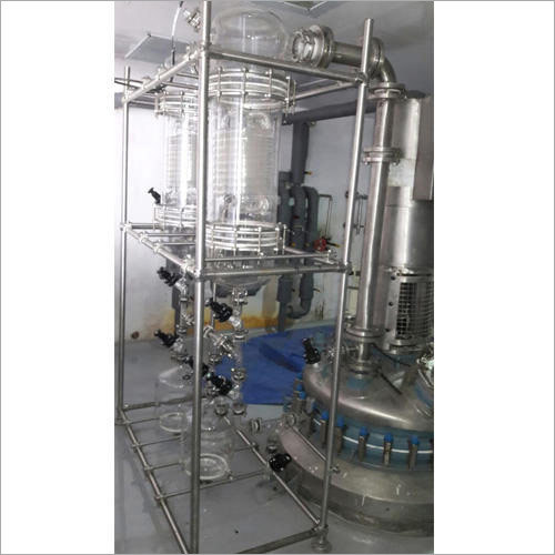 Boro G Glass Condenser Assembly Over GLR