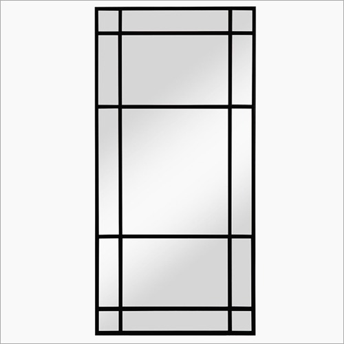 Arched Window Square Mirror Frame