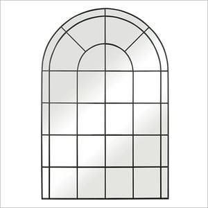 Arched Window Iron Mirror Frame