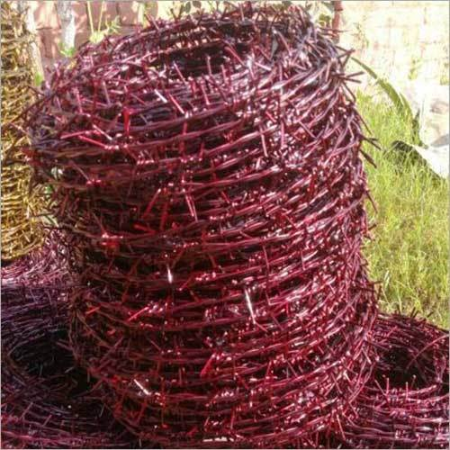 Wrapped Barbed Wire