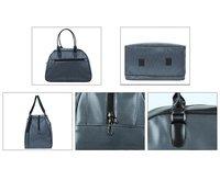 Grey Duffel Bag