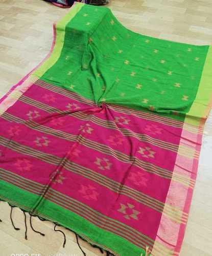 Cotton star designer saree