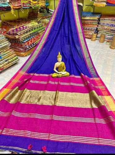Jori border contrast pallu saree