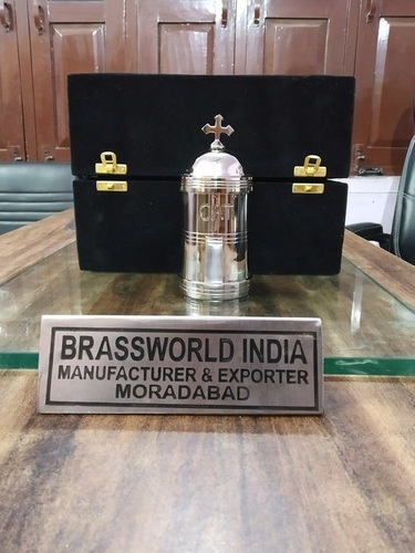 Brass Silver Communion With Cross Church Supplies