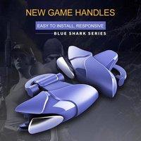 Blue Shark Gamepad Trigger Aim Button L1 R1 Shooter Joystick For PUBG game