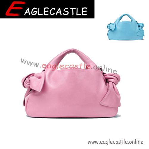 Fashion Top Handle Wrinkled Pleated Clutch Handbag Cloud Bag Large Bucket Drawstring Bag