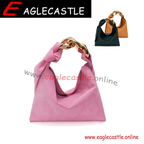 2021 new version shoulder underarm bag simple texture casual solid color fold cloud handbag