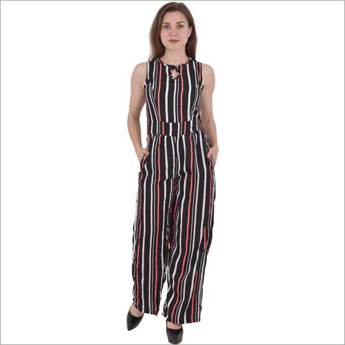 Ladies Multi-Color Jumpsuit
