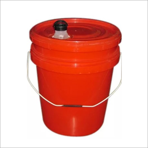 HDPE Red Oil Bucket