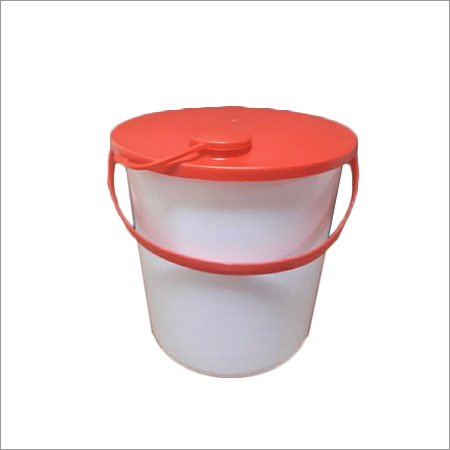 White HDPE Oxfam Bucket