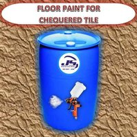 FLOOR PAINT FOR CHEQUERED TILE