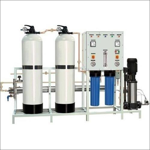 4 kW Automatic FRP Reverse Osmosis Plant