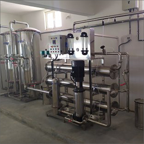 Commercial SS Mineral Water Plant