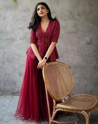 GEORGETTE WITH HEVVY EMBROIDERY DRESS COLLECTION
