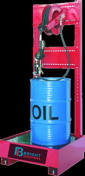 Industrial Oil Hose Reel