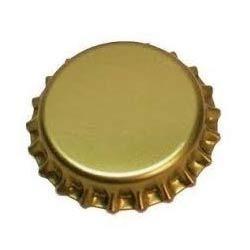 Plain Gold Crown Caps